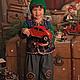 Детские карнавальные костюмы ручной работы. Ярмарка Мастеров - ручная работа. Купить Рождественский комплект. Handmade. Орнамент, костюм для мальчика