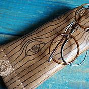 Сумки и аксессуары handmade. Livemaster - original item eyeglass case: Vintage. Handmade.