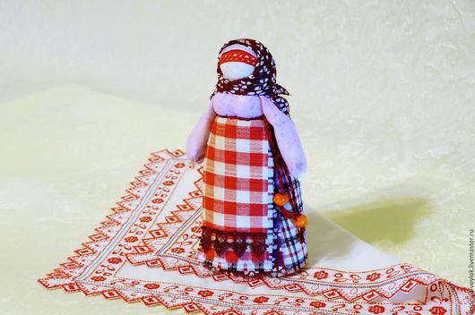 Народные куклы ручной работы. Ярмарка Мастеров - ручная работа. Купить Куколка берегиня Столбушка. Handmade. Комбинированный, обережная кукла