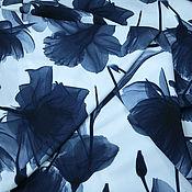Материалы для творчества ручной работы. Ярмарка Мастеров - ручная работа Ткань плательная. Handmade.
