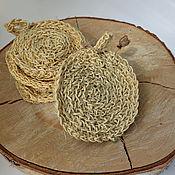 Для дома и интерьера handmade. Livemaster - original item Sisal fiber sponge