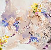 Картины и панно ручной работы. Ярмарка Мастеров - ручная работа Рождение весны - картина на холсте. Handmade.