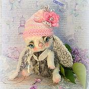 Куклы и игрушки ручной работы. Ярмарка Мастеров - ручная работа Зайка Адория Игрушка Тедди. Handmade.