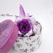 Украшения handmade. Livemaster - original item Brooch-rose silk