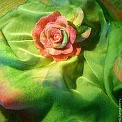 """Украшения ручной работы. Ярмарка Мастеров - ручная работа Брошь """"Queen of Spring"""". Handmade."""