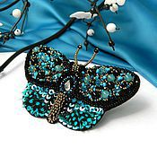 Украшения handmade. Livemaster - original item Butterfly brooch
