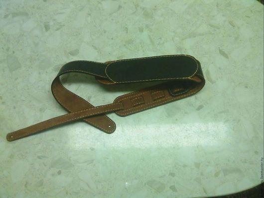 Струнные инструменты ручной работы. Ярмарка Мастеров - ручная работа. Купить Ремень для гитары. Handmade. Ремень для гитары, кожаный ремень