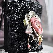 """Украшения ручной работы. Ярмарка Мастеров - ручная работа Брошь """"Шиповник"""". Handmade."""