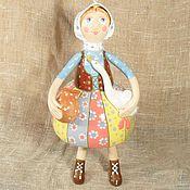 Керамика Интерьерная кукла Бабушка с гусем