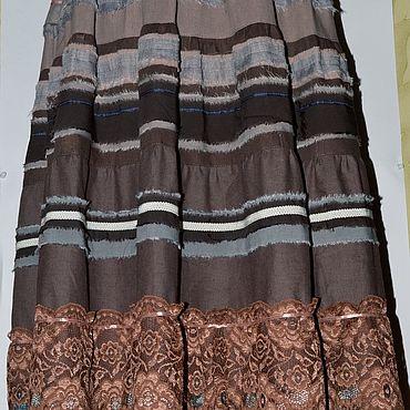 Одежда ручной работы. Ярмарка Мастеров - ручная работа Альбина. юбка бохо . 1000 р только три дня. Handmade.