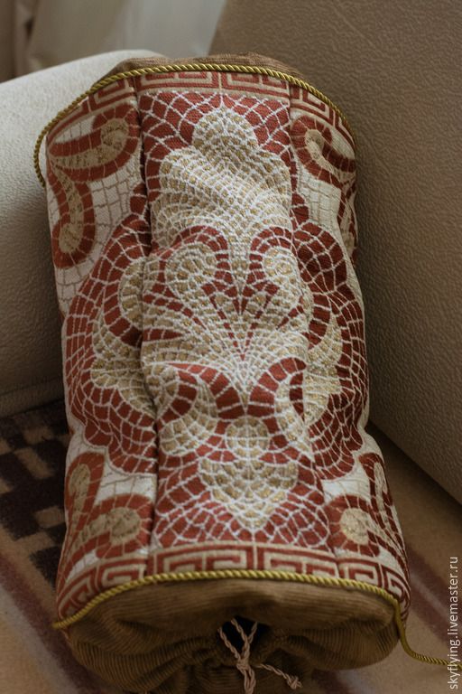 Текстиль, ковры ручной работы. Ярмарка Мастеров - ручная работа. Купить Пакетница. Handmade. Подушка декоративная, пакетница, предмет интерьера