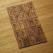 Фен-шуй и эзотерика ручной работы. Ярмарка Мастеров - ручная работа Руны из ясеня и ореха. Handmade.