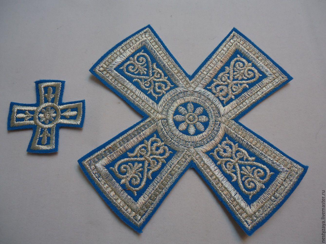 Вышивка крест церковный 68