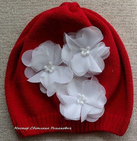 Шапки и шарфы ручной работы. Ярмарка Мастеров - ручная работа. Купить Летняя шапочка на маленькую девочку. Handmade. Детская шапочка