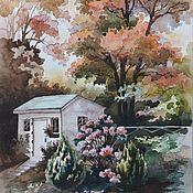 Картины и панно ручной работы. Ярмарка Мастеров - ручная работа Осенний пейзаж. Handmade.