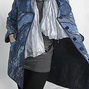 Одежда ручной работы. Ярмарка Мастеров - ручная работа Мартовская прогулка пальто валяное. Handmade.