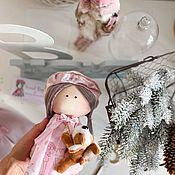 Куклы Тильда ручной работы. Ярмарка Мастеров - ручная работа Продана! Текстильная интерьерная кукла ручной работы.. Handmade.