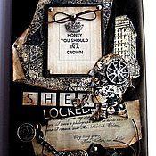 Ежедневники ручной работы. Ярмарка Мастеров - ручная работа Ежедневник Шерлок Холмс. Handmade.