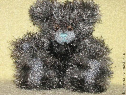 Игрушки животные, ручной работы. Ярмарка Мастеров - ручная работа. Купить Серый мишка с голубым носом (Me to you). Handmade.