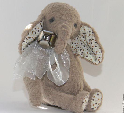 Мишки Тедди ручной работы. Ярмарка Мастеров - ручная работа. Купить Слоник. Handmade. Милый подарок, слон, тедди слоник