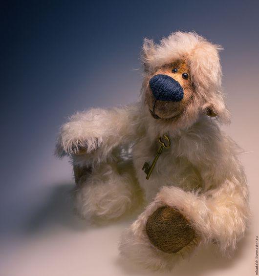 Мишки Тедди ручной работы. Ярмарка Мастеров - ручная работа. Купить Мечтатель. Handmade. Белый, тедди мишка, синтепон