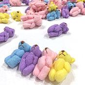 Куклы и игрушки ручной работы. Ярмарка Мастеров - ручная работа Мишка мини 4см. Handmade.