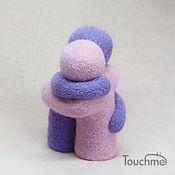 Подарки к праздникам handmade. Livemaster - original item Two: lilac fog. Handmade.