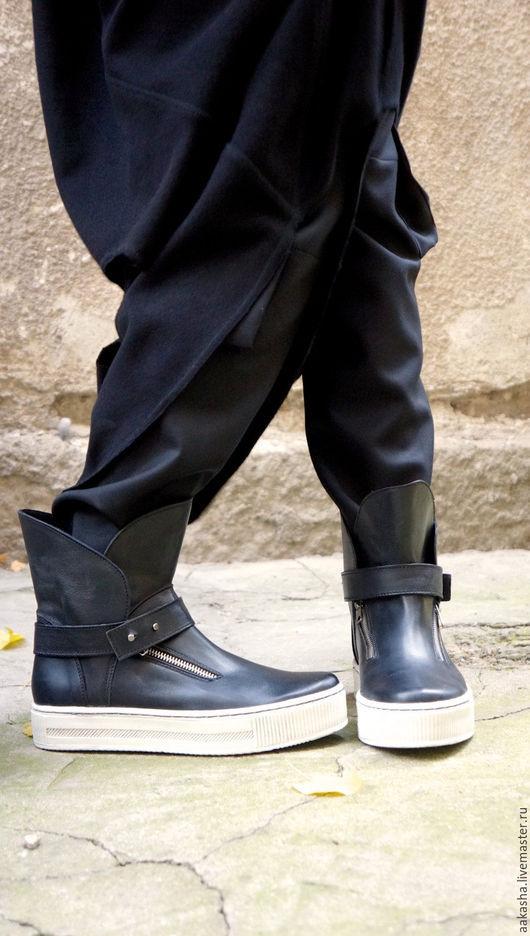 Кожаные кеды обувь из натуральной кожи дизайнерские кеды стильная обувь кеды кожаные сникерсы