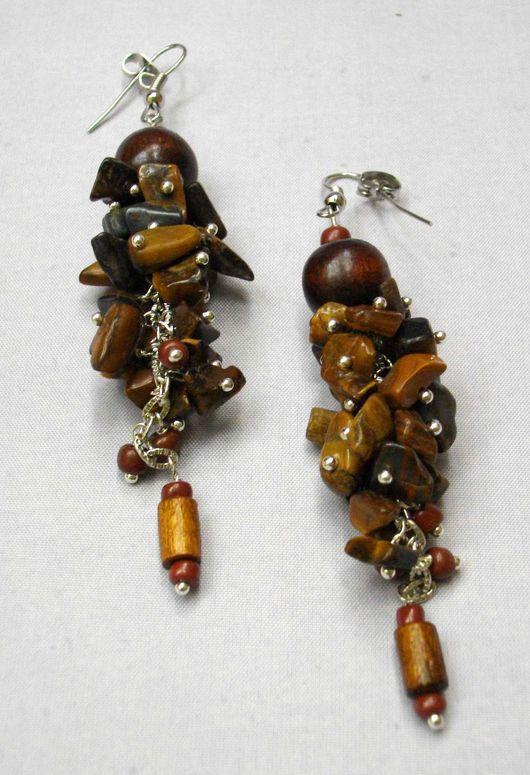 Серьги из бисера, сережки, Купить серьги, Серьги с камнями, бисер, Длинные серьги, Сережки из бисера, Серьги висюльки, серьги натуральными, серьги, большие серьги, купить серьги с камнем
