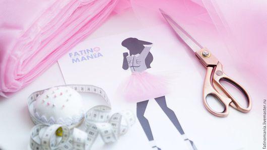 """Шитье ручной работы. Ярмарка Мастеров - ручная работа. Купить Фатин средней жесткости """"Розовый кварц"""". Handmade. Розовый"""