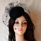 Аксессуары handmade. Livemaster - original item Evening hat. Handmade.