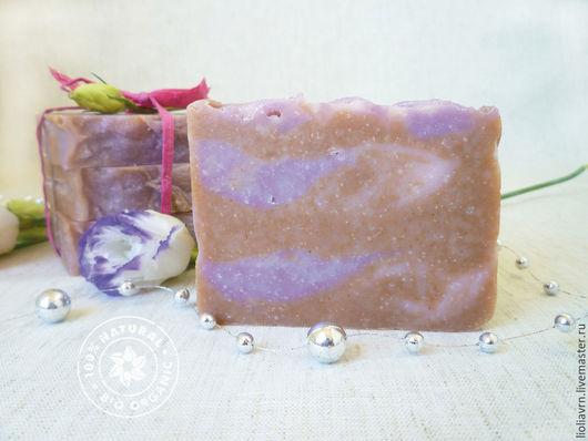 """Мыло ручной работы. Ярмарка Мастеров - ручная работа. Купить Натуральное мыло """"Душистый горошек"""". Handmade. Кремовый, мыло с нуля"""