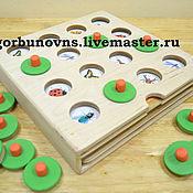 Куклы и игрушки handmade. Livemaster - original item MEMORY game to develop memory and logical thinking. Handmade.