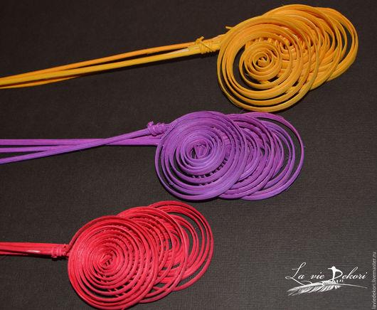 Материалы для флористики ручной работы. Ярмарка Мастеров - ручная работа. Купить Спирали из ротанга цветные. Handmade. Ротанг, спирали из ротанга