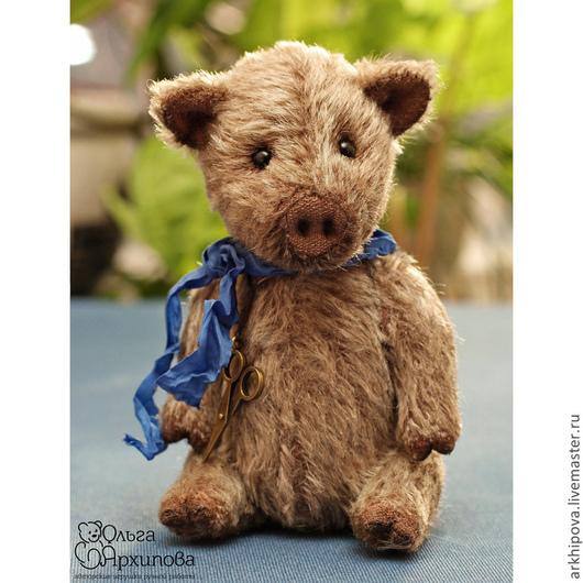 Кабан - друг мишек Тедди (поросёнок, свинья, кабанчик, пятачок) - ручная авторская работа.