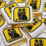 Свадебный салон ручной работы. Ярмарка Мастеров - ручная работа Crazy Love..Свадебные бонбоньерки. Handmade.