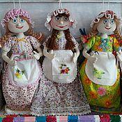 Куклы и игрушки ручной работы. Ярмарка Мастеров - ручная работа кукла-пакетница. Handmade.