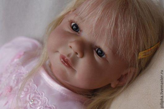 Куклы-младенцы и reborn ручной работы. Ярмарка Мастеров - ручная работа. Купить Куколка реборн Белла.. Handmade. Розовый, текстиль