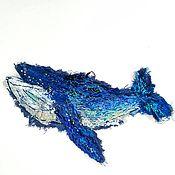 Материалы для творчества handmade. Livemaster - original item Kit-author`s patch (applique) with hand embroidery. Handmade.