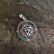 Русский стиль handmade. Livemaster - original item The symbol of Veles - pendant, amulet. Handmade.