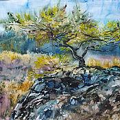 Картины и панно ручной работы. Ярмарка Мастеров - ручная работа И на камнях растут деревья.... Handmade.