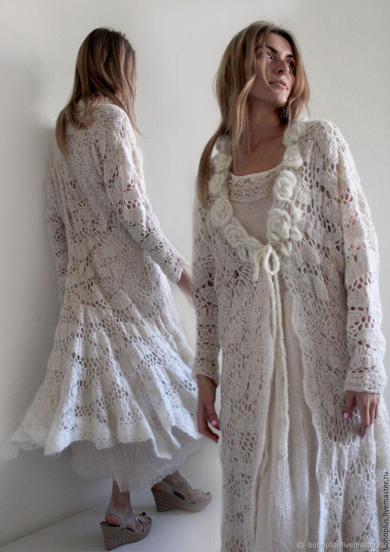 фото женское ажурное пальто предпочитает иметь