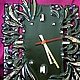 Фон может быть очень ярким - часы прекрасно выделяются на любом насыщенном цвете!