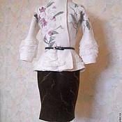 """Одежда ручной работы. Ярмарка Мастеров - ручная работа Жакет """"В ожидании весны.."""". Handmade."""