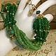 Женский браслет на руку ручной работы из натуральных камней модные красивые украшения купить в интернете фото браслет зеленого цвета