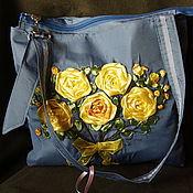 """Работы для детей, ручной работы. Ярмарка Мастеров - ручная работа Сумочка для девочки """"Жёлтые розы"""". Handmade."""