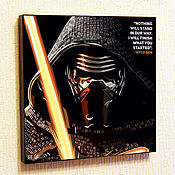 Картины и панно handmade. Livemaster - original item Picture Star wars pick Ren. Handmade.