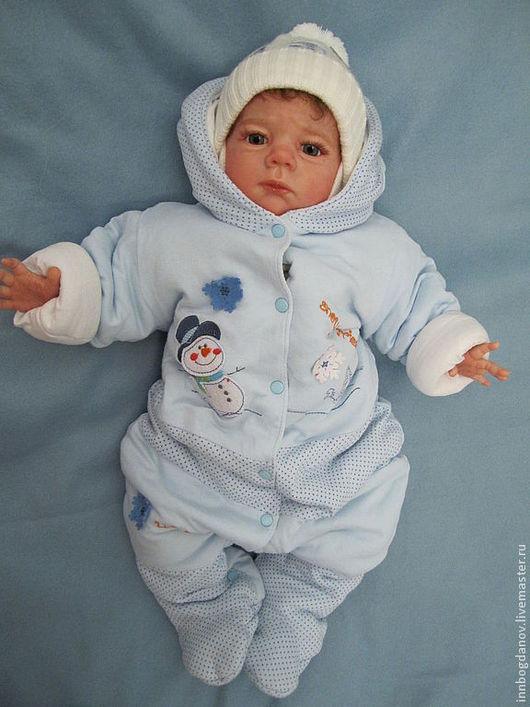 Куклы-младенцы и reborn ручной работы. Ярмарка Мастеров - ручная работа. Купить Кукла реборн Святослав-2. Handmade.