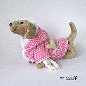 Подарки к праздникам ручной работы. Ярмарка Мастеров - ручная работа собака в шубке. Handmade.