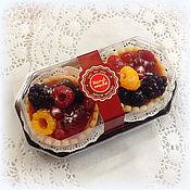 Косметика ручной работы. Ярмарка Мастеров - ручная работа Корзиночки с ягодами в коробке набор мыла в подарок. Handmade.